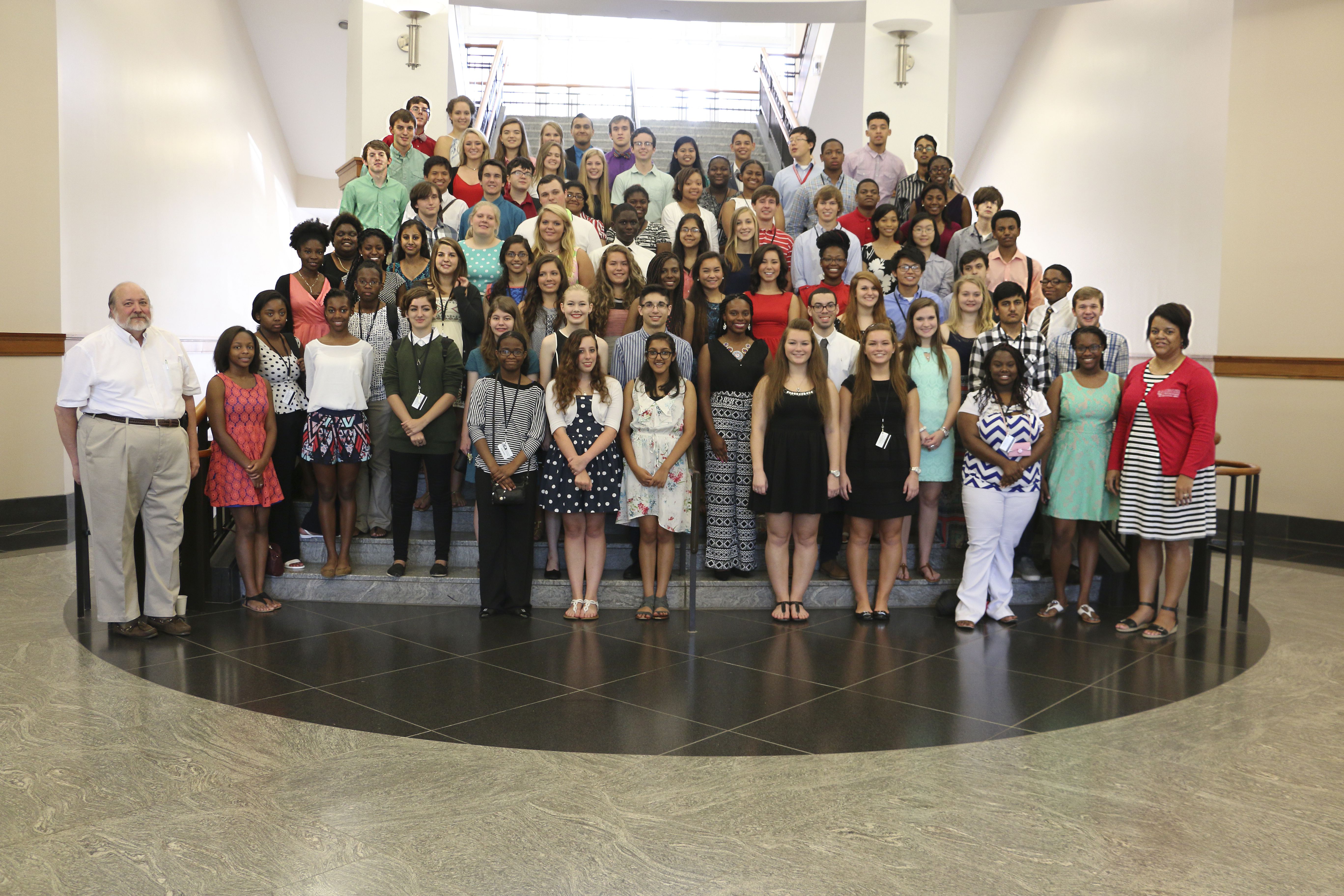 The 2015 class of the CAES Young Scholars Program spent this summer performing research in labs and fields in Griifin, Tifton and Athens.