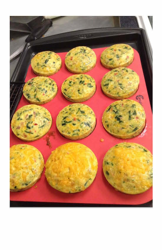 Southwestern Breakfast Egg Muffin