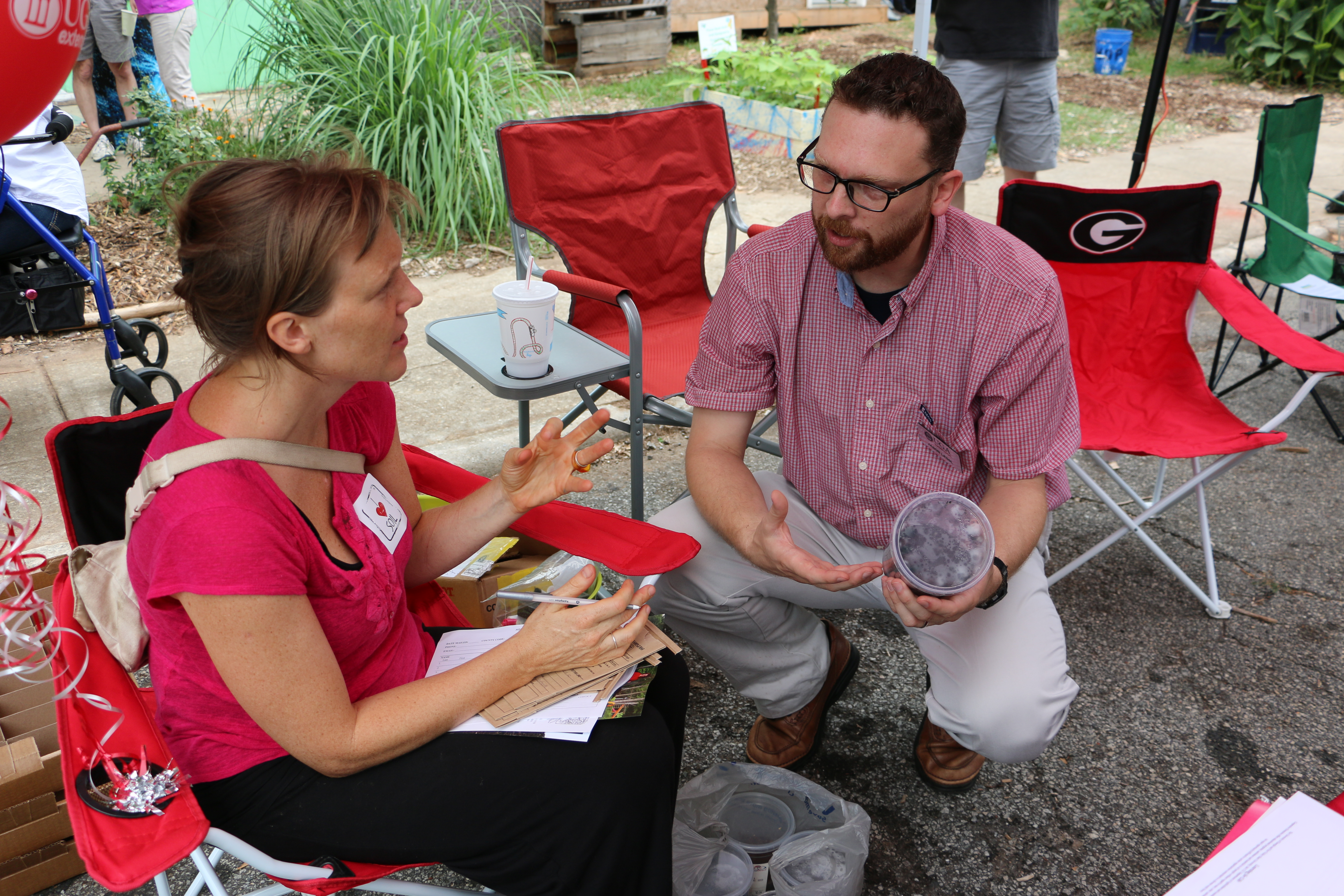 Representatives of UGA's Soil, Plant and Water Analysis Laboratory will be on hand to answer gardeners' soil questions in downtown Atlanta on Aug. 27 at Love Local: A Soil Festival to Grow Healthier Communities.