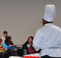 """Chef Matthew Raiford, owner of The Farmer & The Larder in Brunswick, Ga., is among the experts who have helped lead University of Georgia Extension's """"Starting a New Food Business"""" class."""