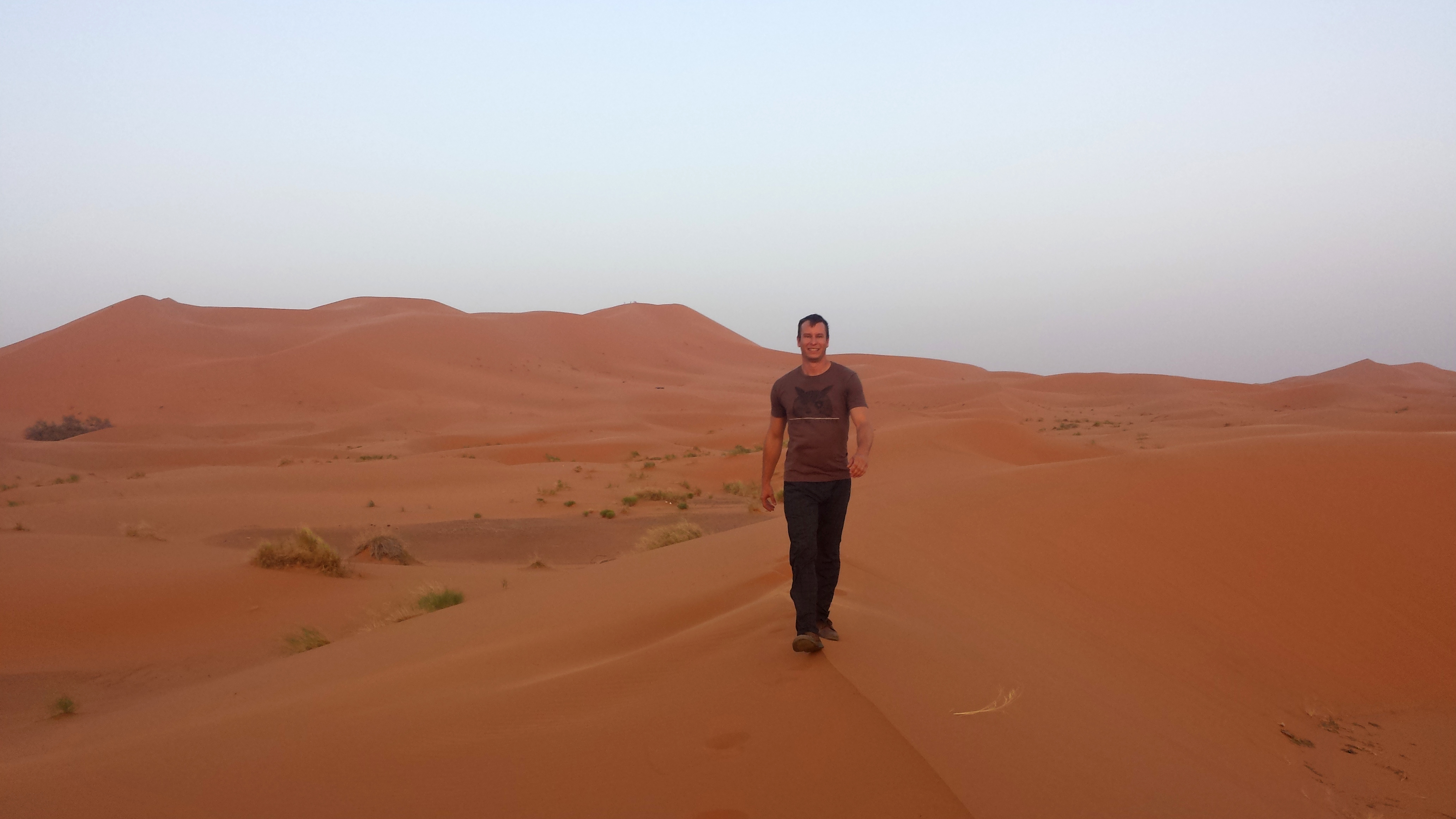 Chris Reynolds, an agribusiness major in the UGA College of Agricultural and Environmental Sciences, presented on his horticultural internship in Morocco during summer 2015. Reynolds is an International Certificate Student and presented at the inaugural international agriculture certificate students night.