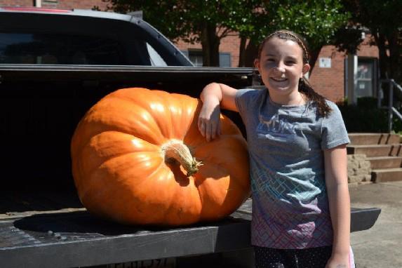 Savannah Crosby Pumpkin 3rd