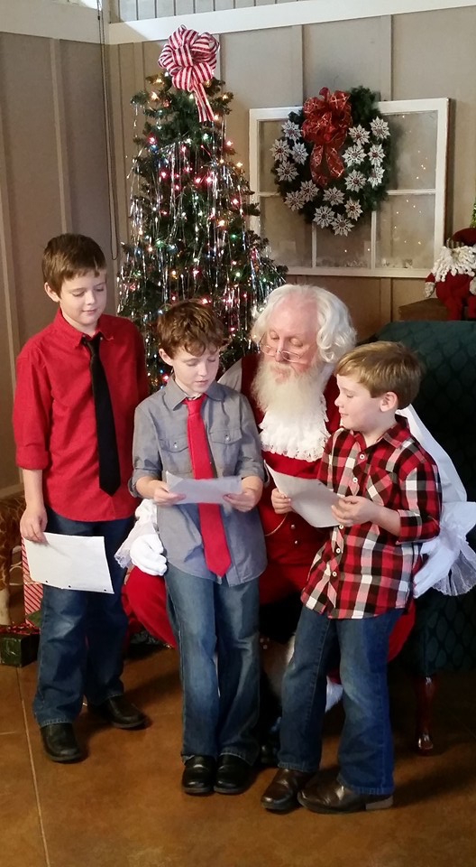 To help reduce stress over the holidays, University of Georgia Extension experts say make lists and stick to them, just like these wise youngsters. Make lists of what to buy and where to buy those items and create a list of everything that needs to be done. Then attach a schedule for the coming weeks to break large tasks into smaller ones.