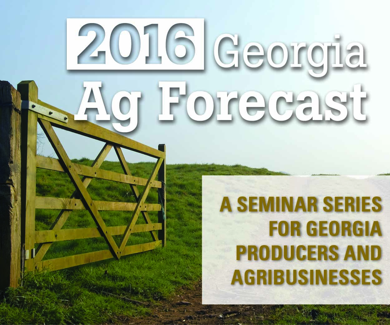 The Jan. 22 Ag Forecast scheduled for Unicoi State Park has been canceled due to weather. It will be rescheduled soon.