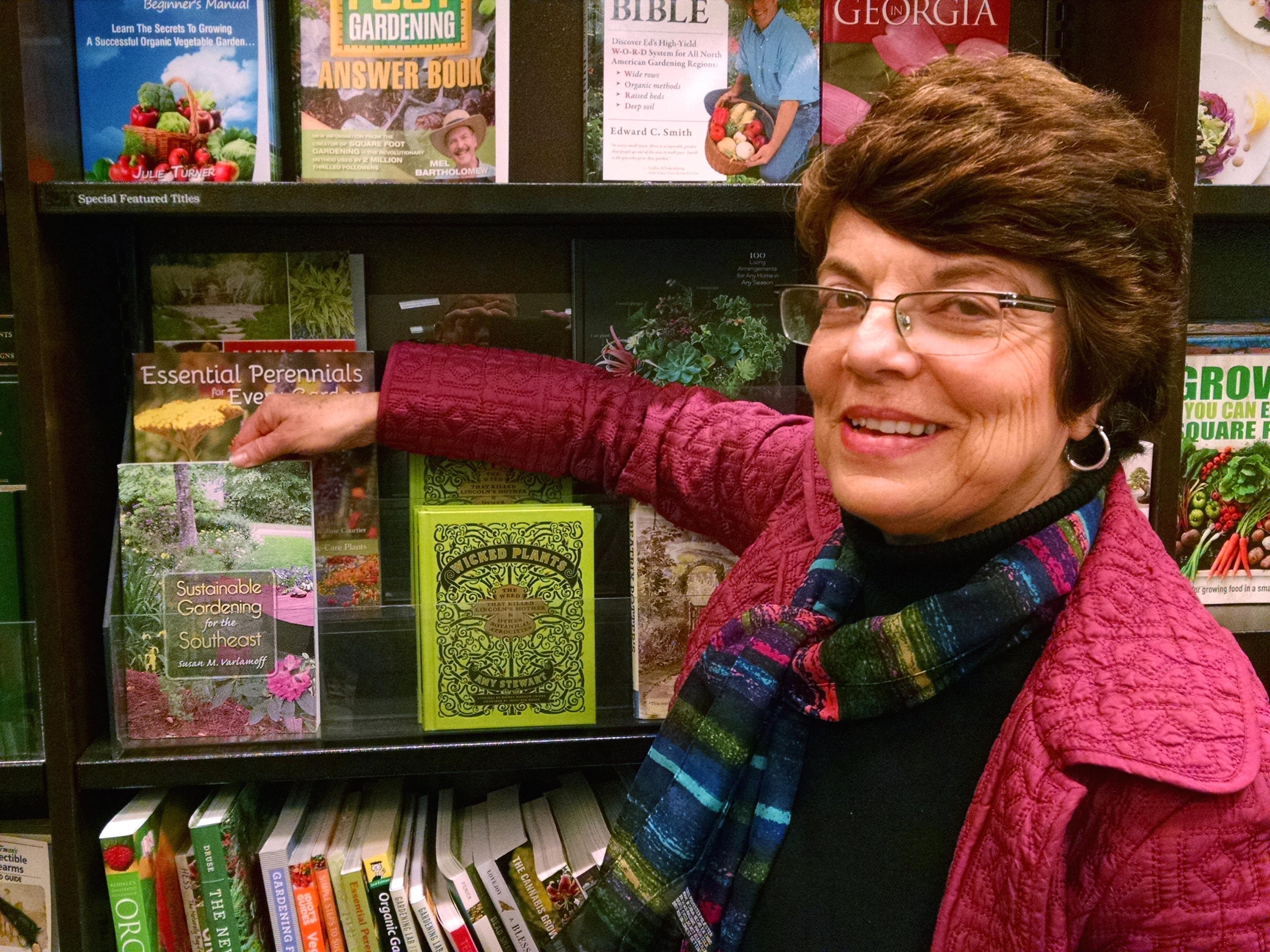"""In """"Sustainable Gardening for the Southeast,"""" Susan Varlamoff pulls together science-based information from Southern land-grant universities on various aspects of environmentally friendly gardening."""