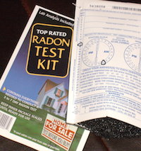 Radon has no smell and is invisible, so the only way to know if you have it is to test. You can order a radon test kit from UGA Extension (radon.uga.edu) for $15.
