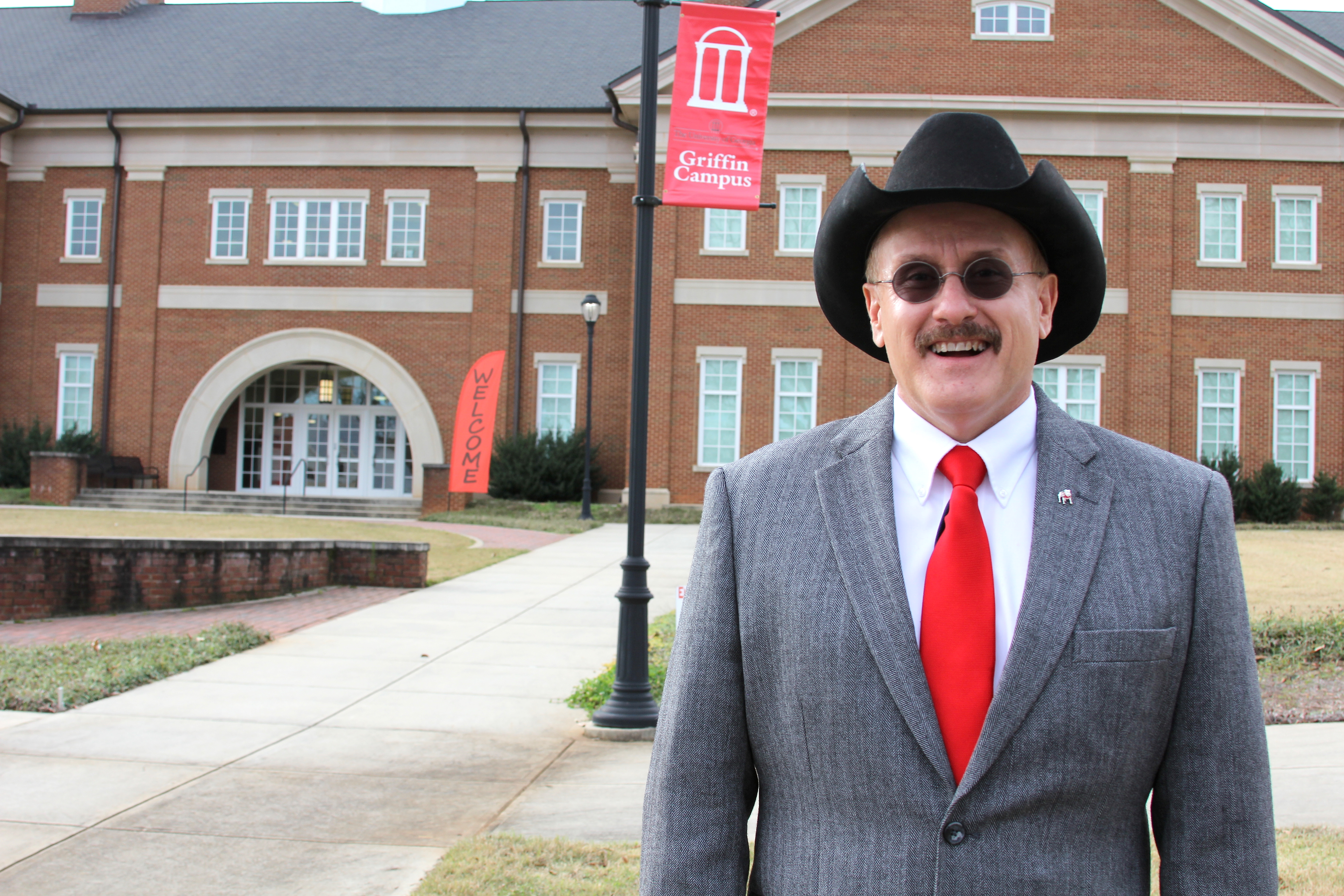 Lew Hunnicutt, assistant provost and campus director at the University of Georgia Griffin Campus.