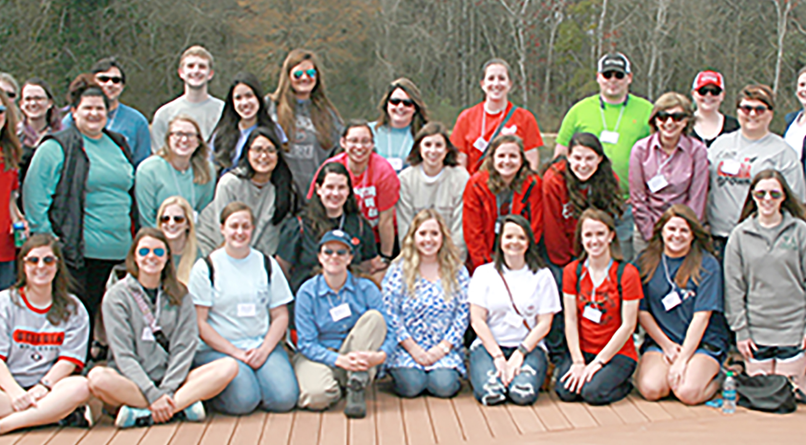 A group picture of the CAES students at the UGA Tifton Campus.  March 9, 2016