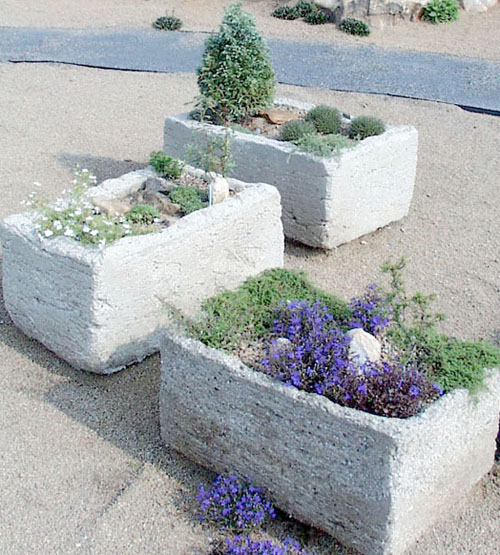 Several participants will be given an opportunity to make their own hypertufa planter at the mountain garden expo May 15 and 16.