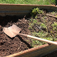 Perfect composting conditions require the perfect combination of materials — not too much brown matter, not too much green matter, not too cold and not too dry.