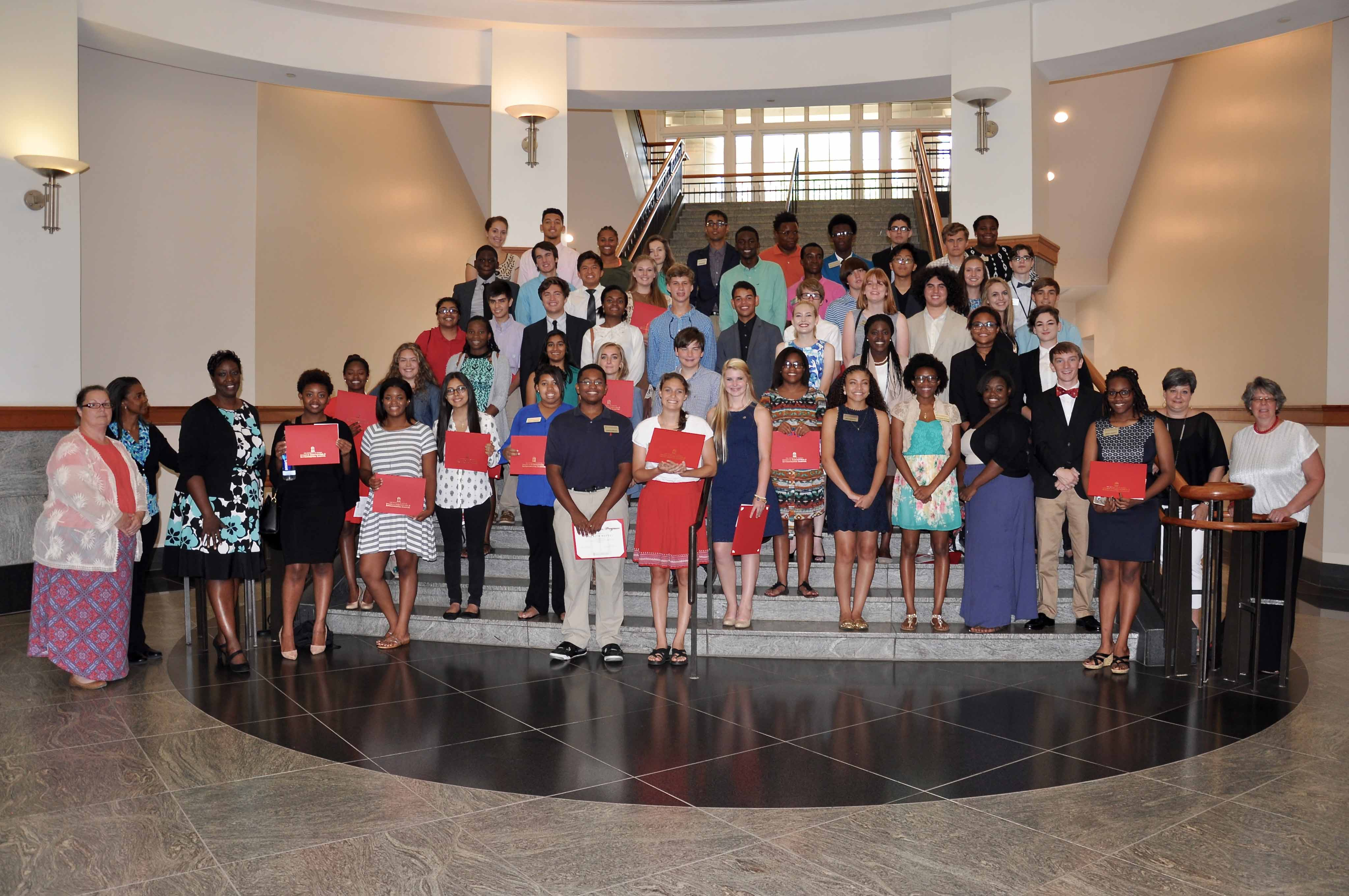The CAES Young Scholars program brought more than four dozen high school students to UGA campuses in Athens, Griffin and Tifton this summer for real-world research assistance.