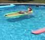 It's time to shut down the swimming pool until next summer. Don't forget to clean pool floats and toys before packing them away. Other summer items, like sleeping bags and picnic tablecloths, need to be cleaned, too, before they are packed away.