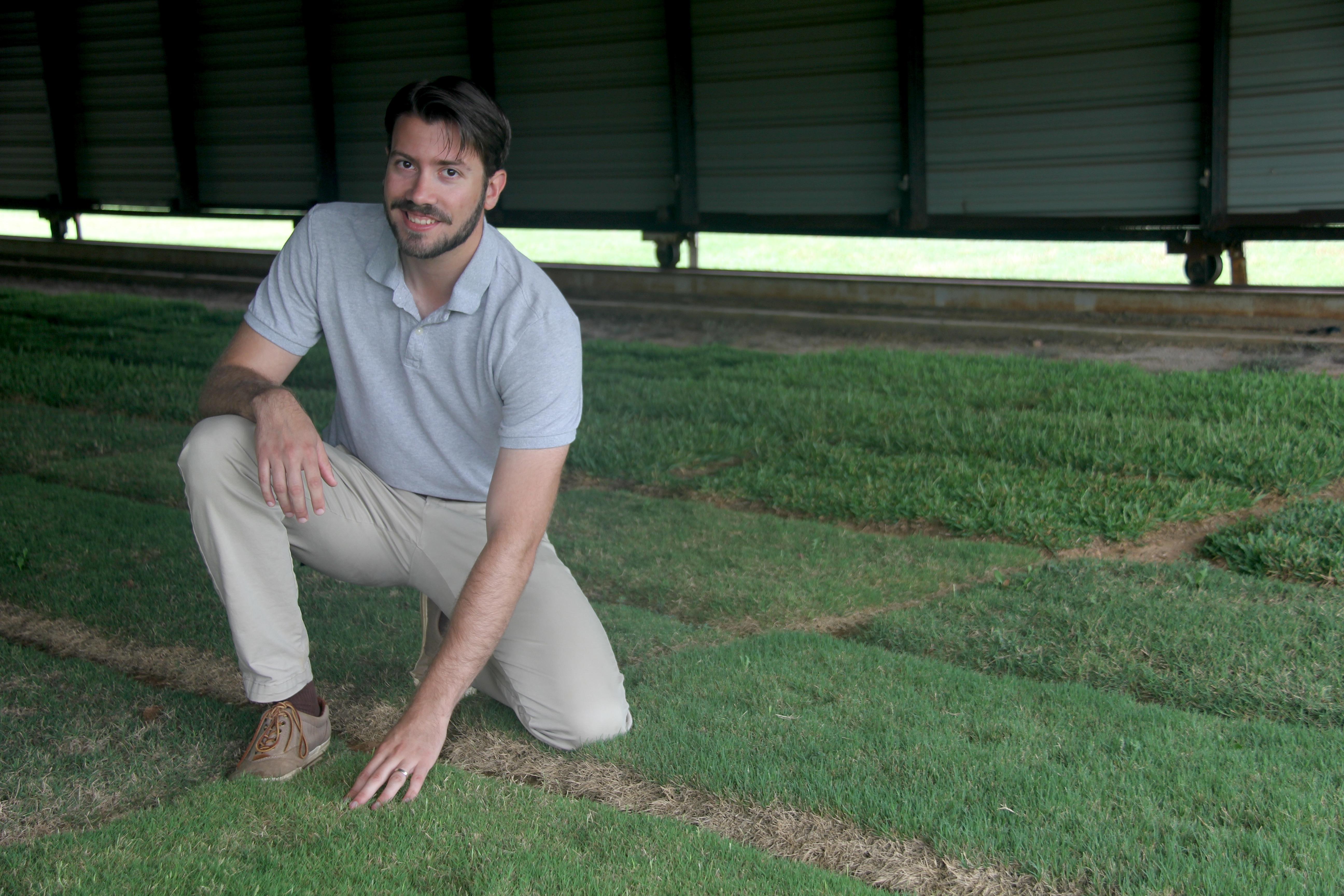 David Jespersen is the newest member of the University of Georgia Turfgrass Team.