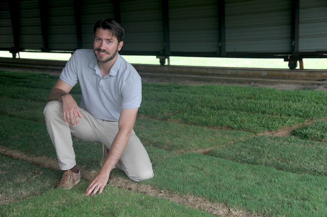David Jespersen is the newest member of the University of Georgia Turfgrass Team.