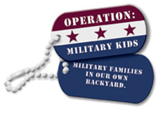 Operation:  Military Kids logo