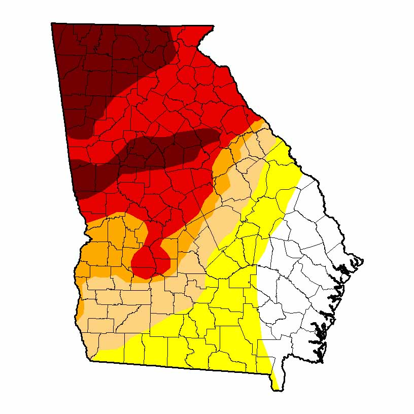 USDA Drought Monitor OCT 2016