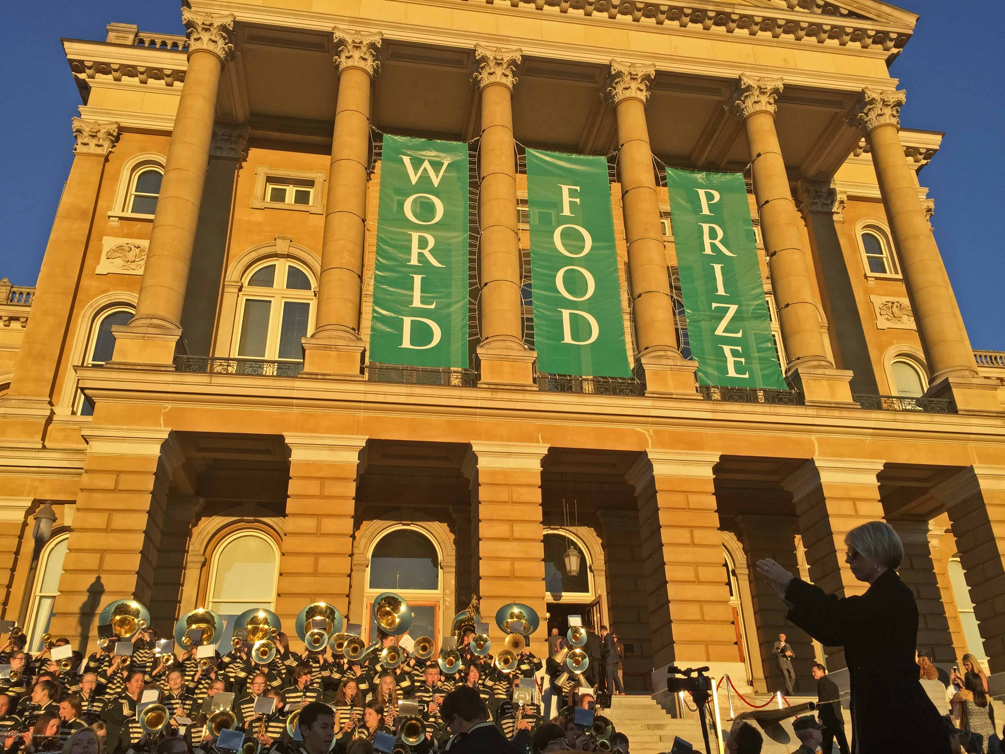 World Food Prize Banner