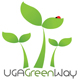 The UGA GreenWay logo was designed by Oconee County High School student Tracey Pu.
