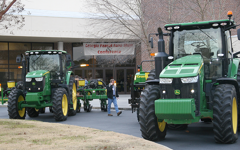 The 43rd annual Georgia Peanut Farm Show and Conference will be held at the UGA Tifton Campus Conference Center in Tifton, Georgia, on Thursday, January 17, 2019.