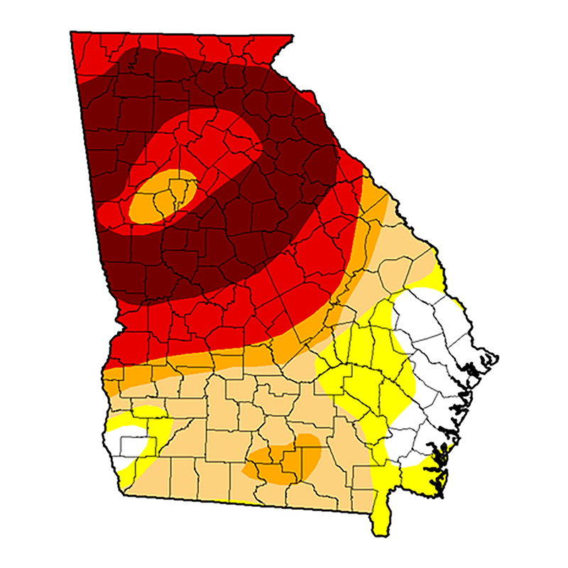 Georgia drought