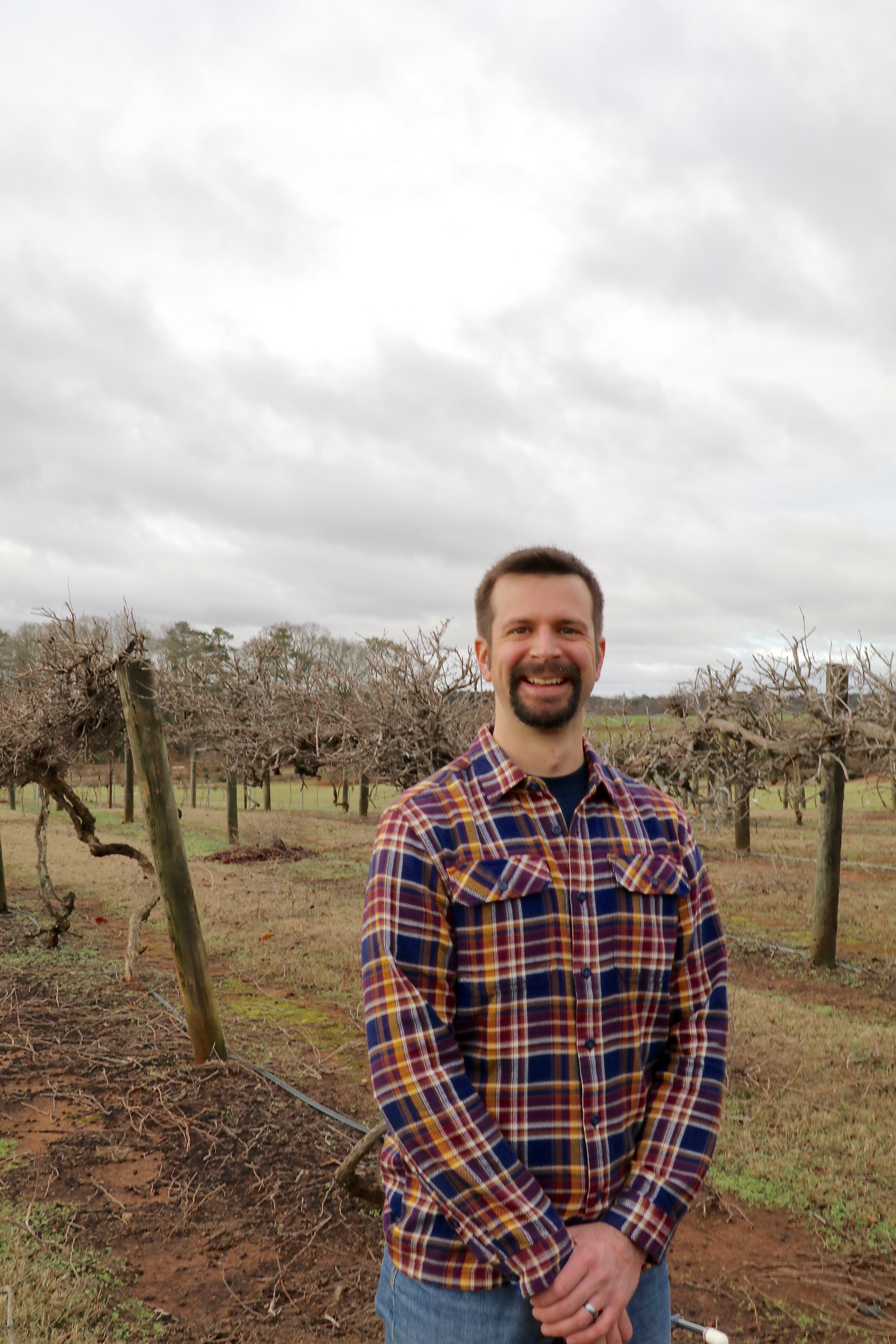 This year, viticulture specialist Cain Hickey will be recognized for his contributions to Georgia's burgeoning wine industry by the publishers of Fruit Growers News and Vegetable Growers News.