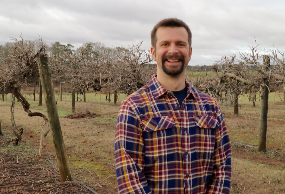 On March 1, University of Georgia Cooperative Extension will welcome Cain Hickey, the state's first full-time Extension viticulturist.