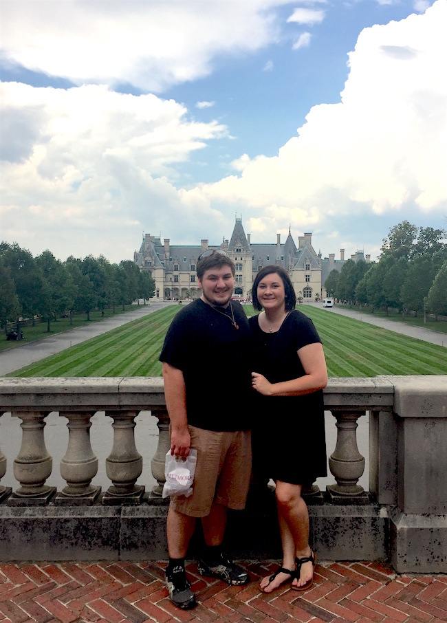 Whether it's a date night to the movies, spending the day kayaking on the Towilaga River or a weekend touring the Biltmore House, newlyweds Sam and Amanda Williamson make an effort to spend time together.