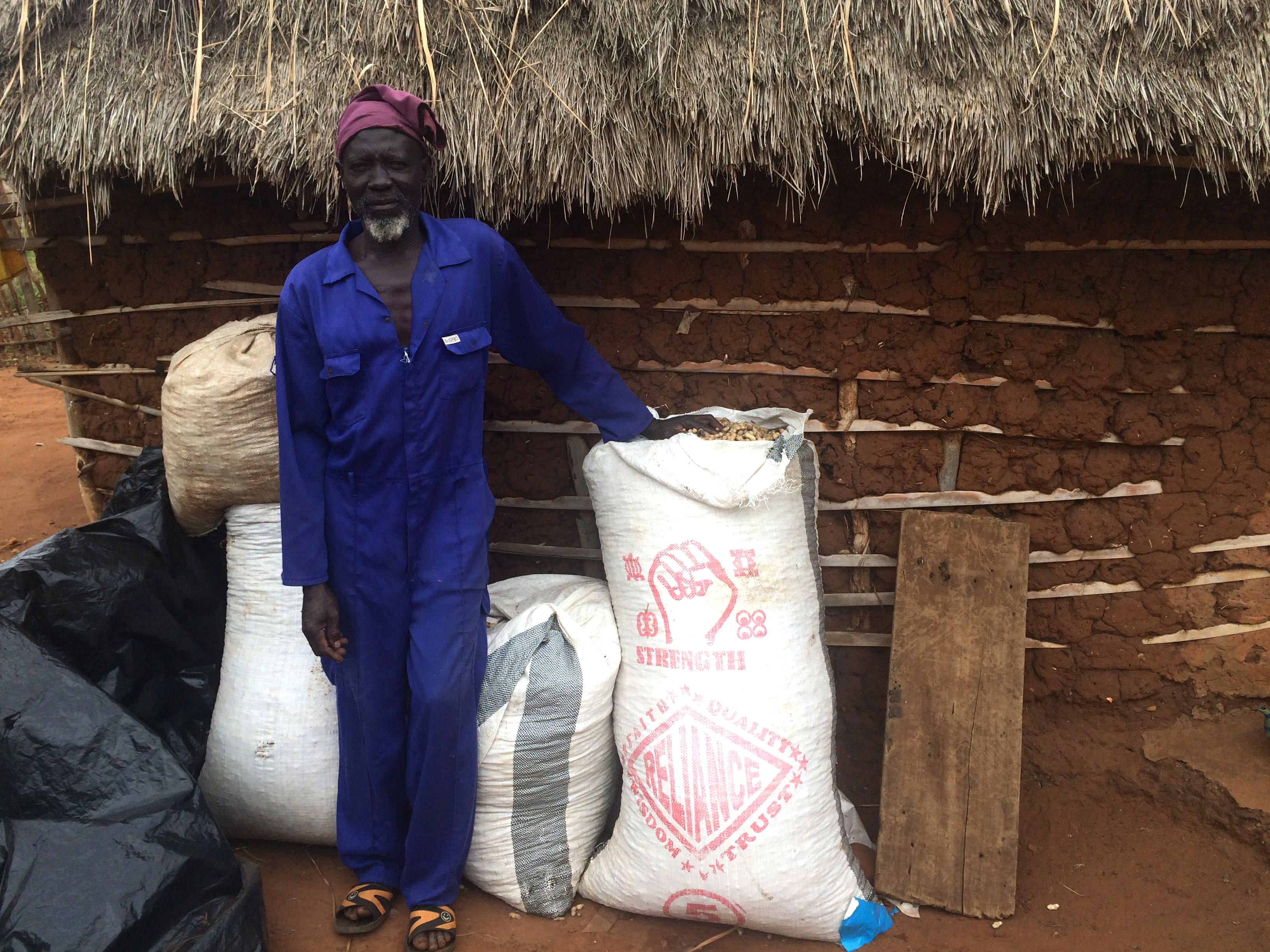 Dagomba is one of the villages in Ghana where farmers work with PMIL partners to learn new growing and storage techniques.