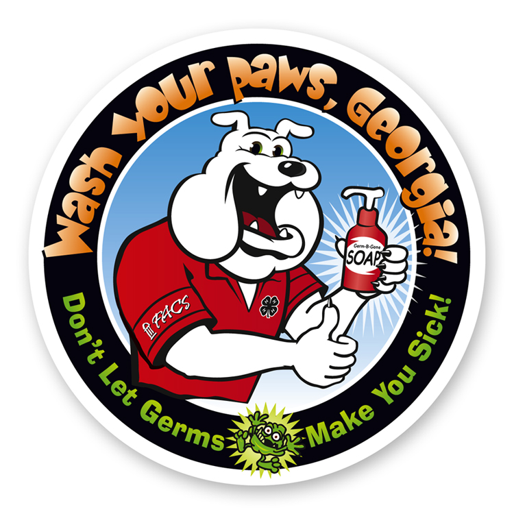 Wash Your Paws campaign logo