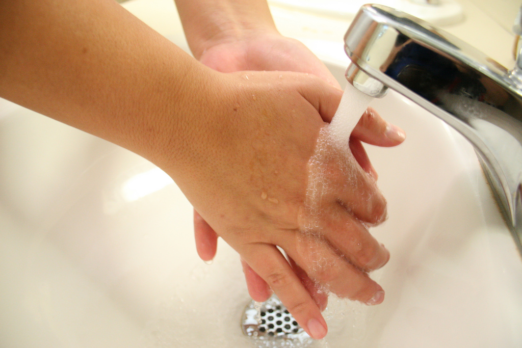 University of Georgia Extension experts say that you should wash your hands for 20 seconds with warm soap and water to effectively clean them. Hand sanitizer is not a replacement for hand-washing. Sanitizer can be used in the event that soap and water are not available, but soap and water are always the best choice for hand-washing.