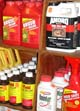In this file photo, an array of pesticides are lined on the shelves of a Griffin, Ga., feed and seed store.
