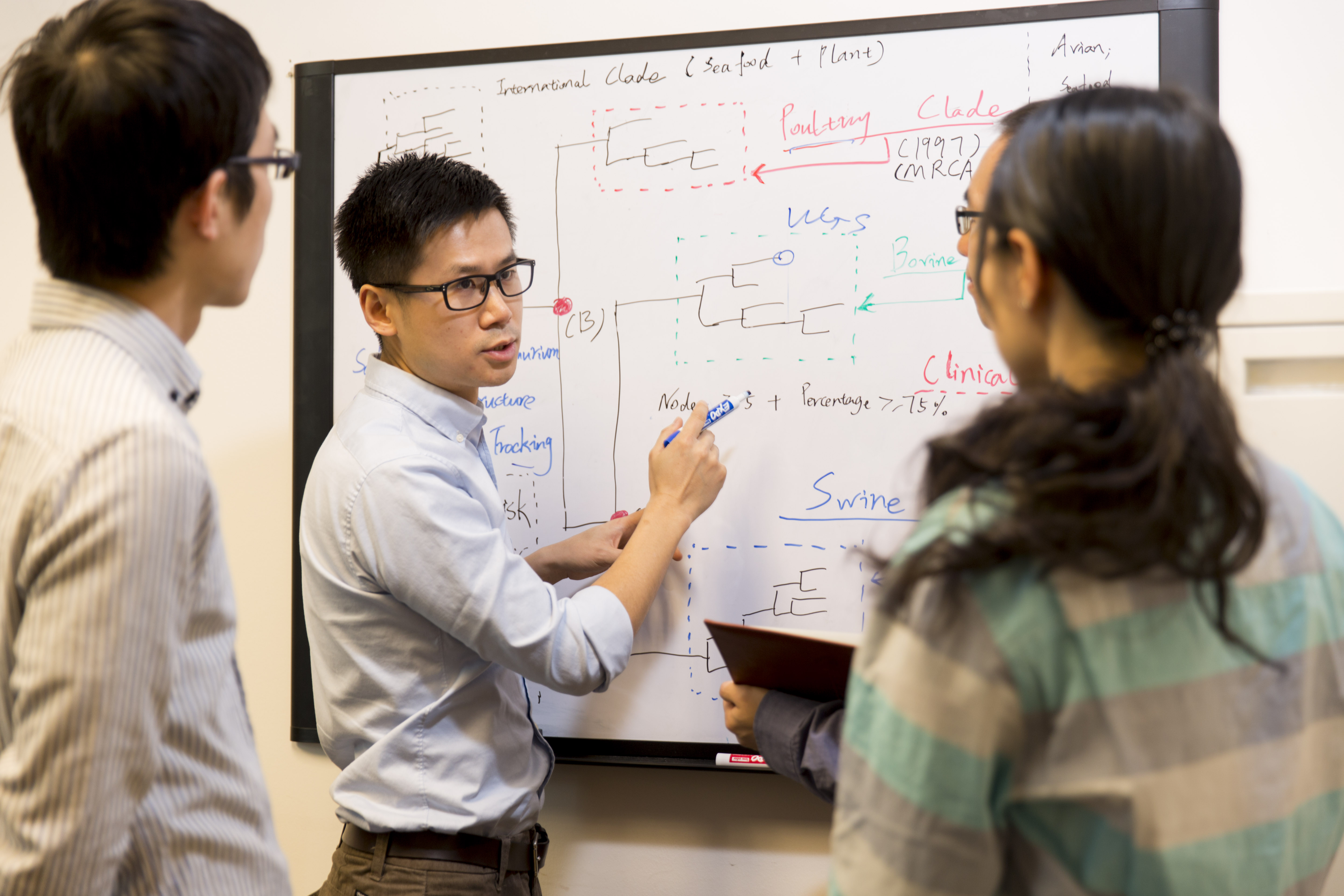 Xiangyu Deng, an assistant professor of food microbiology with the Center for Food Safety (CFS) on the UGA Griffin campus, has creating a cloud-based software tool that quickly classifies strains of salmonella, one of the most prevalent foodborne pathogens in the United States and worldwide.