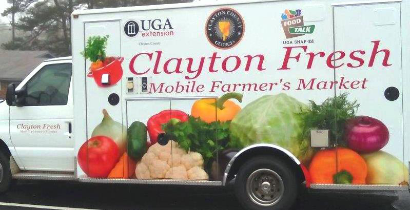 UGA Cooperative Extension in Clayton County is launching the Clayton Fresh mobile farmers market program this June.