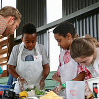 UGA Extension's Fulton Fresh will host its annual Fulton Fresh Cooking Competition for fourth- through sixth-graders on Wednesday, May 30, at East Point Farmers Market.