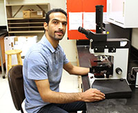 Abolfazl Hajihassani is the new Extension vegetable nematologist on the UGA Tifton campus.