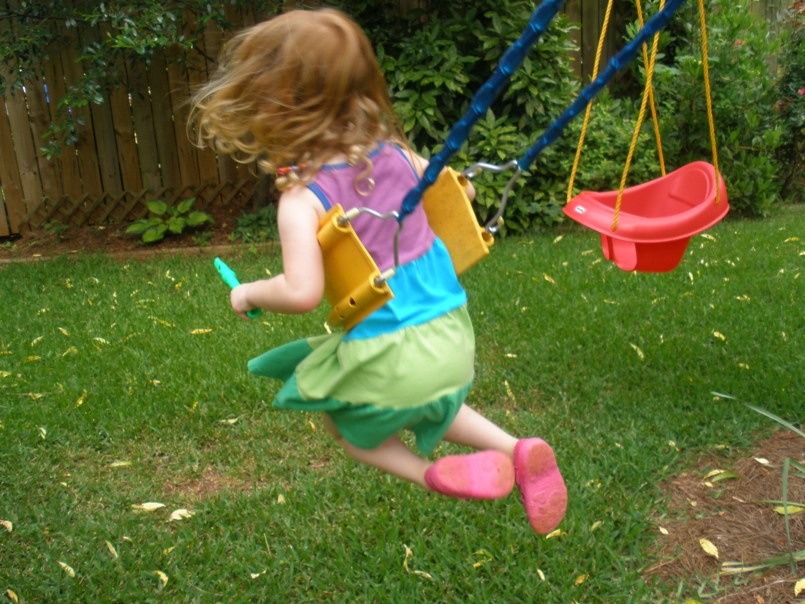 Playgrounds aren't just a place for fun and games. They can be a place for accidents if children are left unsupervised.