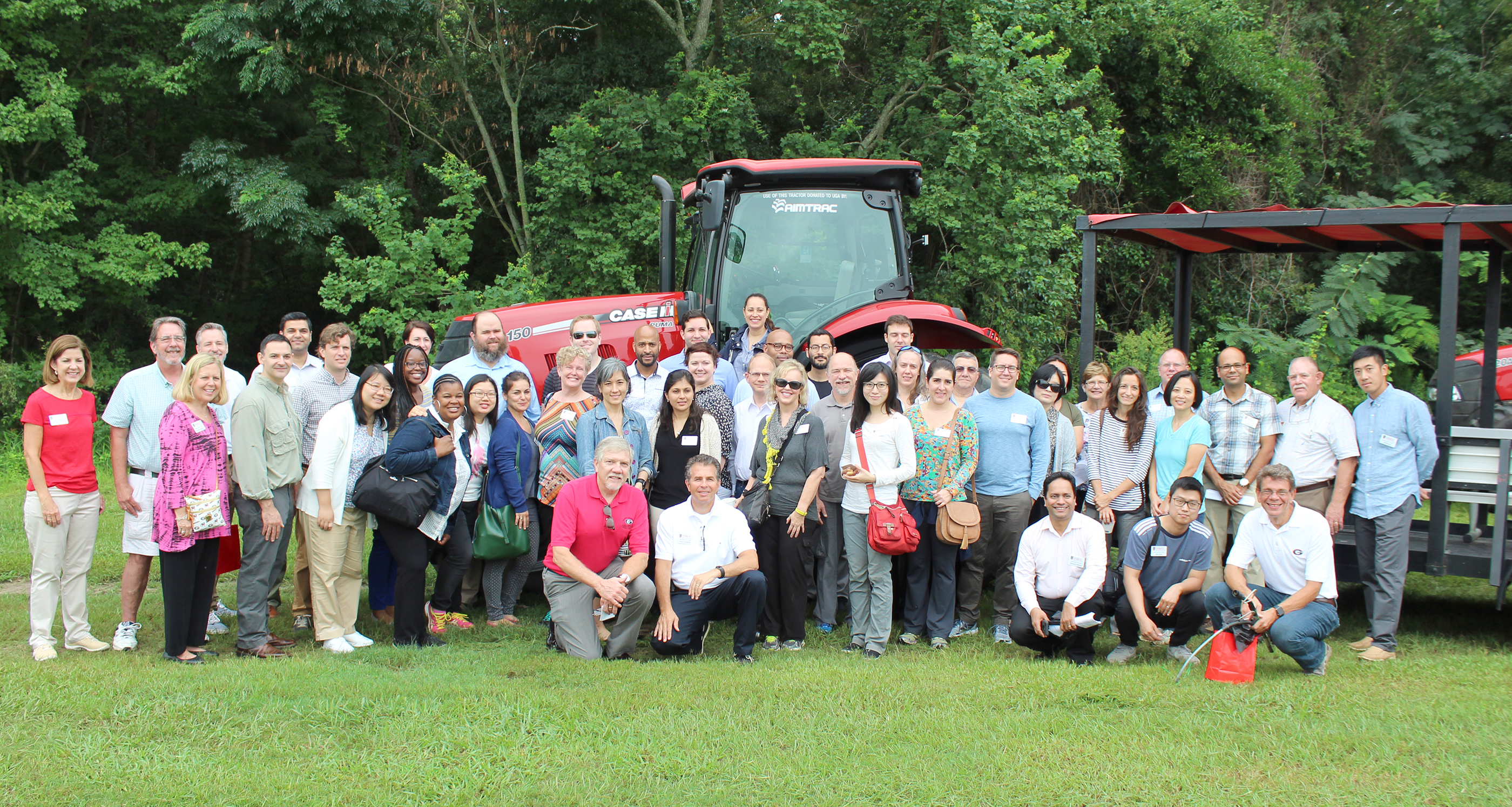 The UGA New Faculty Tour made a stop at the UGA Tifton campus on Thursday, Aug. 10, 2017.