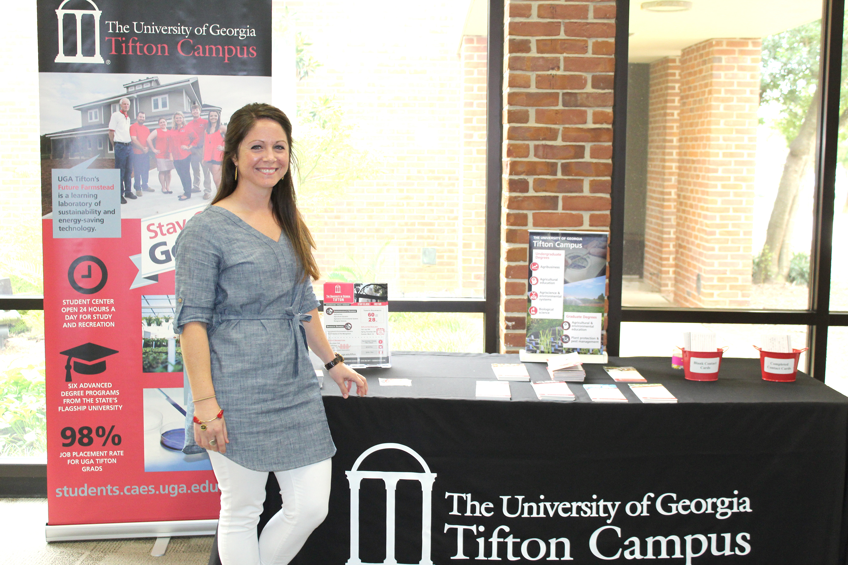 Katie Murray is the new student recruiter on the UGA Tifton campus.