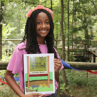 Lavendar Harris, 16-year-old Georgia 4-H'er and a volunteer at Bear Hollow Zoo in Athens-Clarke County, compiled a coloring book to serve as a fundraiser for the zoo. Harris is a home-schooled student and Newton County, Georgia, 4-H Club member. The coloring book is the keystone of her Georgia 4-H Leadership in Action project.