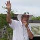 Allan Armitage guides visitors around the UGA Trial Gardens.
