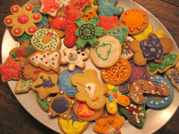 One or two cookies won't hurt during the holidays.