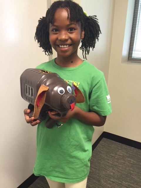 Tatiana Plummer, a Fulton County 4-H Club member, won first place at the elementary school level in the 2017 Georgia Saves Make Your Own Piggy Bank Contest. Georgia elementary and middle school students have until March 15 to enter this year's contest.