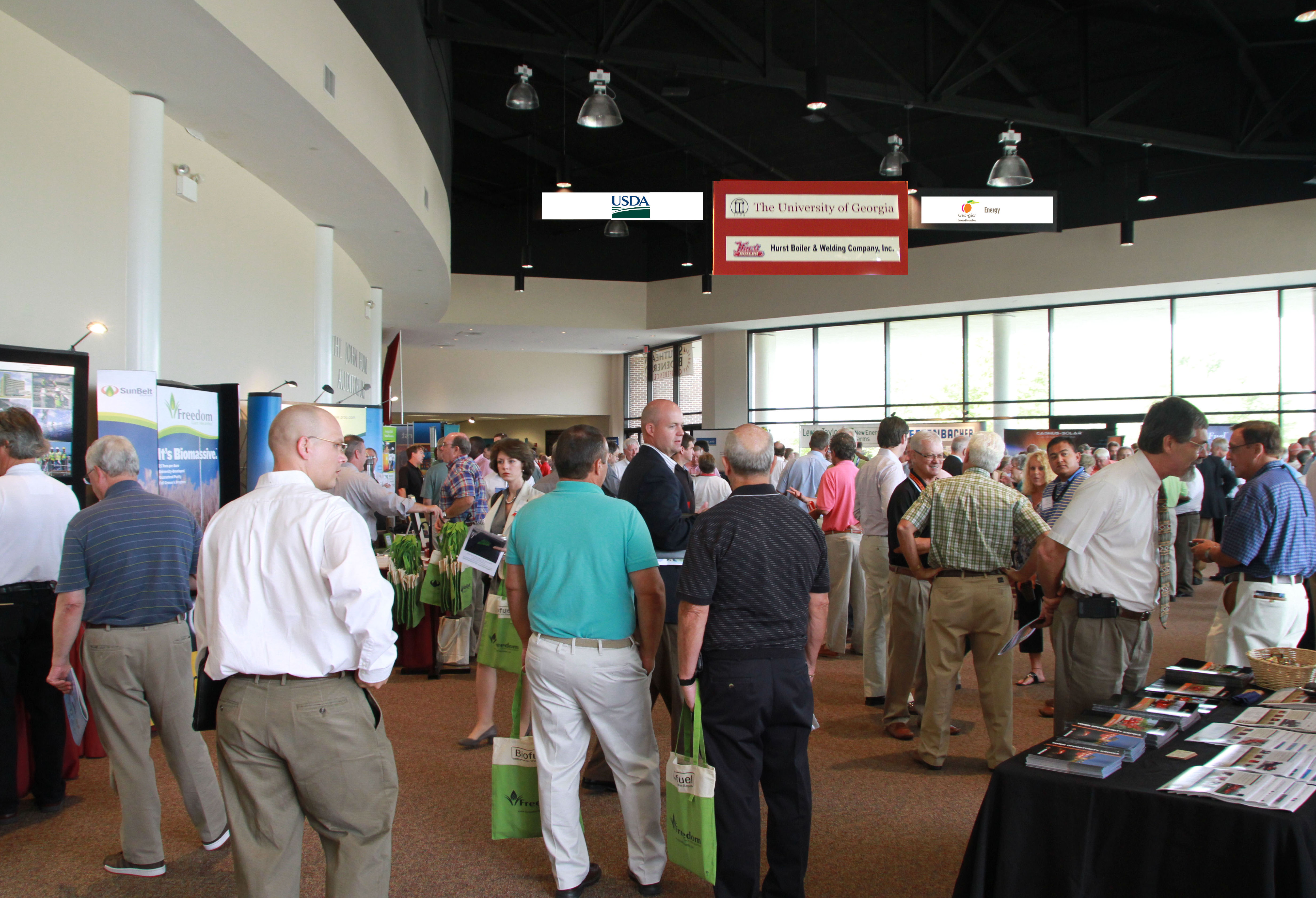 The three-day 2010 Southeast Bioenergy Conference held in Tifton, Ga., attracted more than 500 participants.