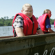 Rock Eagle boating