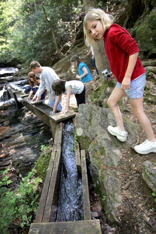 Washega 4-H water trough