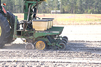 Most producers set a depth and downforce for a crop and plant at those settings for the rest of the season, and farmers may not look at the other components on the planter. UGA Extension precision agriculture and irrigation specialist Wes Porter says that farmers should adjust the planter to cater to different soil types, especially if fields have different soil moisture levels.