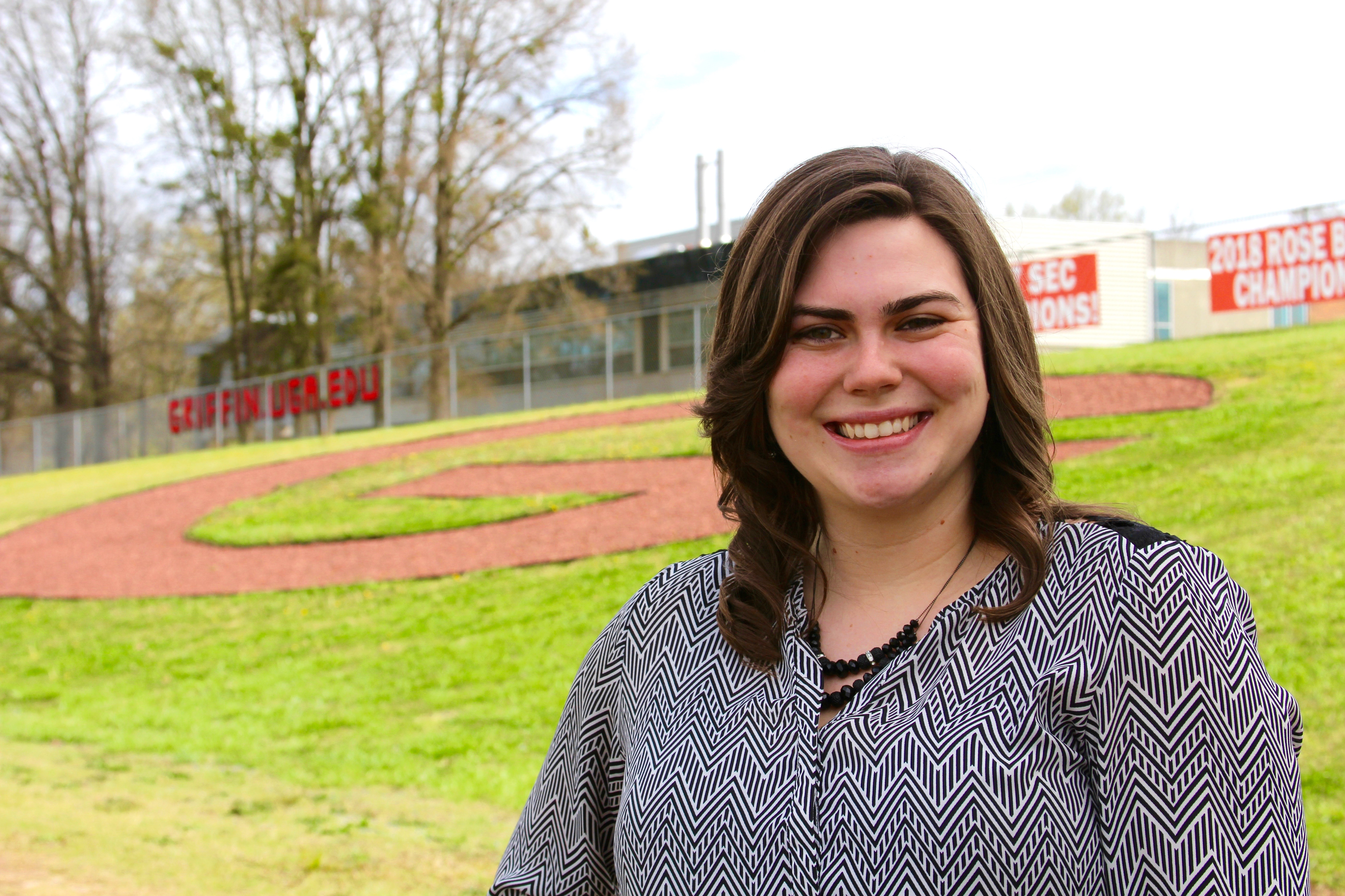 When Kathleen Chumbley Freeman was a student at UGA-Griffin, she served as a student ambassador and president of the campus's student advisory council. Now she has joined the staff of the campus as the program coordinator for the College of Agricultural and Environmental Sciences.