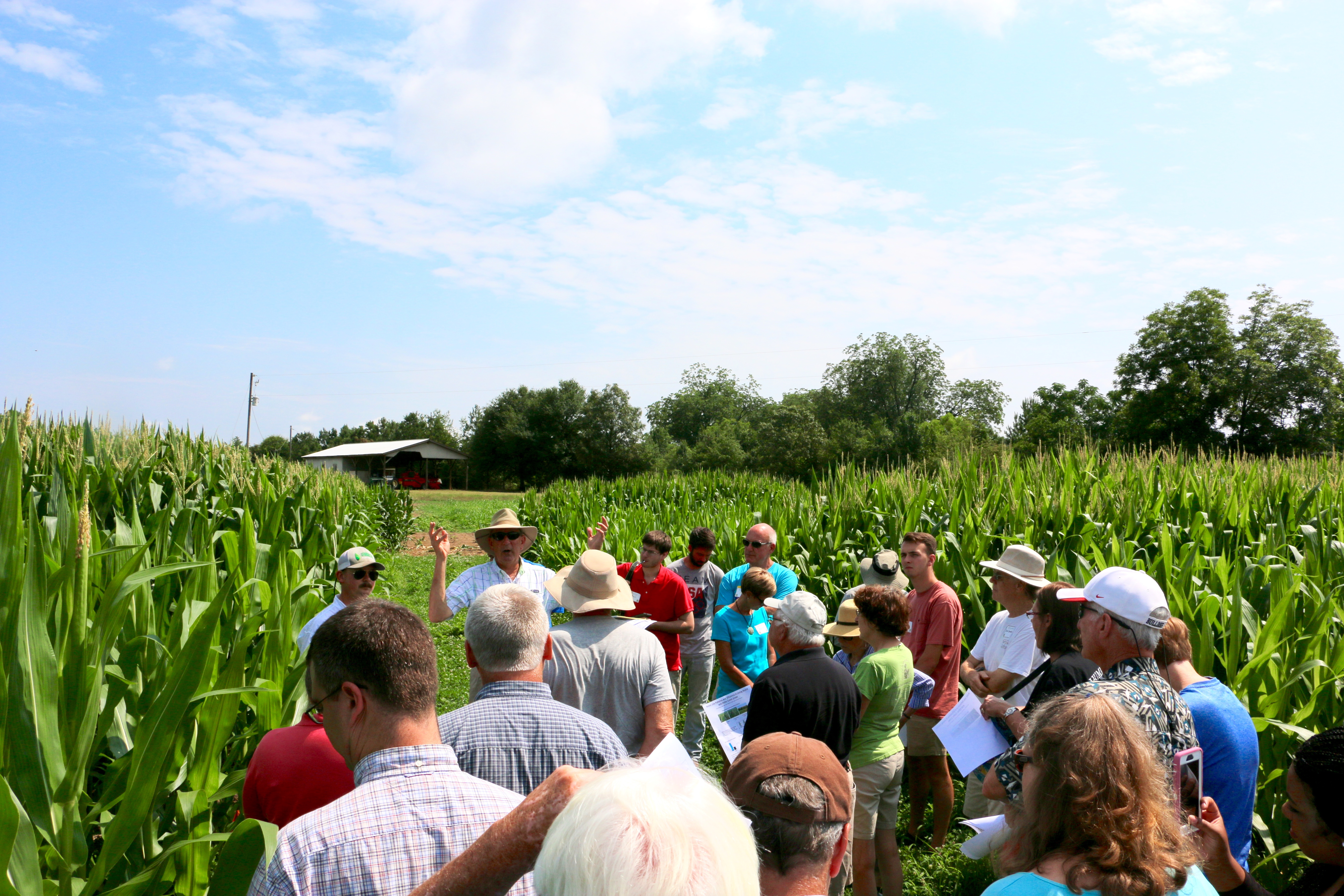 The staff at the University of Georgia's J. Phil Campbell Sr. Research and Education Center will host their annual corn boil and farm tour on June 26 from 9:30 a.m. to 1 p.m. Tours of the farm will be followed by a community corn boil.