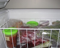 If you experience a prolonged power outage, University of Georgia Cooperative Extension experts say keep the refrigerator and freezer doors closed as much as possible. A refrigerator will keep food at a safe, cold temperature for about four hours if the door remains closed. A full freezer will hold its temperature for about 48 hours. A half-full freezer will only maintain its temperature for about 24 hours if the door stays closed.