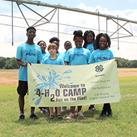 South Georgia 4-H members enjoyed a trip to UGA's Stripling Irrigation Research Park for 4-H20 camp on Wednesday, June 6.